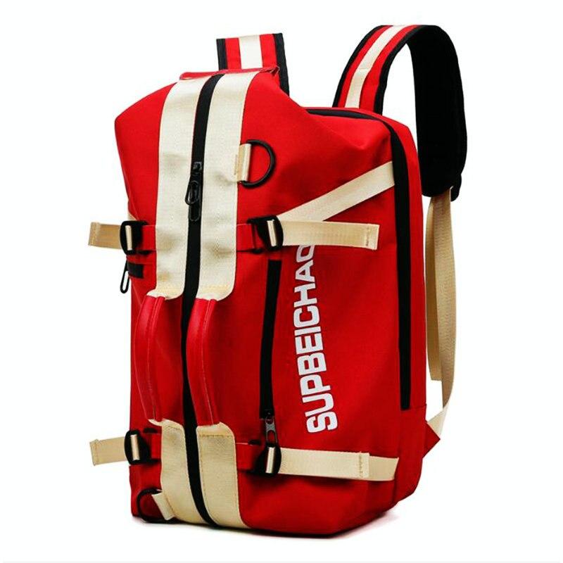 Nes Women Sport Bags Men Travel Backpack Hot Sale Outdoor Camping Duffel Backpack Student Computer Bag School Book Knapack