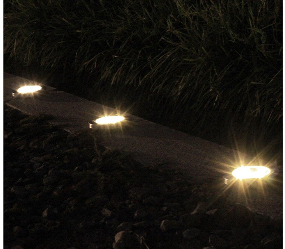 solar luzes subterrâneas à prova dwaterproof água