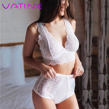 VATIN Sexy Hot Lace Sleepwear Women Apparel G-string Sexy Lingerie Transparent W