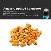10 pares Amass Upgrated Connector enchufe MT60 conector hembra y macho enchufes para RC avión Multirotor Drone Plug(China)