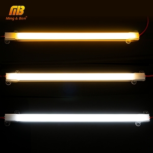 Image 3 - 5 unidades/lote de tubos LED SMD2835, 220V, 72LED, carcasa transparente de color blanco lechoso, 30cm, 50cm, luz de cultivo blanco frío y cálido para iluminación interior