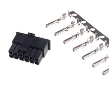 Pcie-Connector Nvidia-Cards Micro-Fit 3.0 for Receptacle-Housing 12-Pin 12-Circuits 20pcs