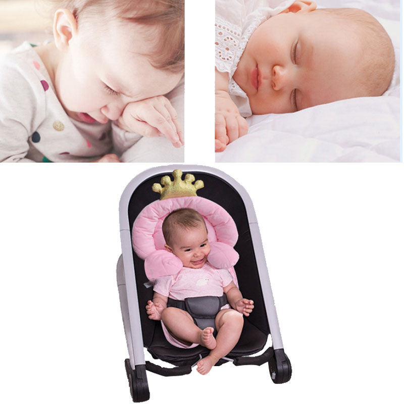 0-1 Year Crown Design Portable Baby Bed Folding Crib Newborns Cots Nursery Nest Sleeping Infant Cradle Baby Children's Bed