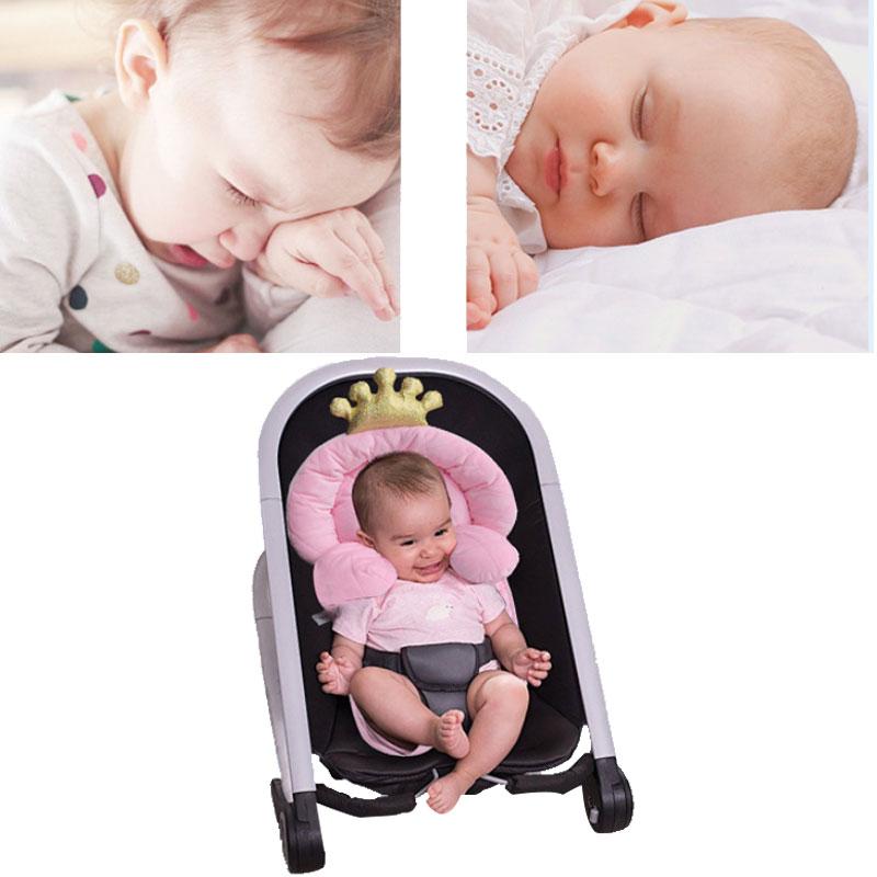 0-1 Year Crown Design Portable Baby Bed Folding Crib Newborns Cots Nursery Nest Sleeping Infant Cradle Baby Children's Bed