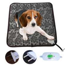 Pet Heating Pad for Dog Cat 110v 220v Waterproof Power-off Protection Electric Heating Pad Body Winter Warm Mat Bed Animals Bed electric heating carbon dioxide pressure reducer heating table 36v 110v 220v