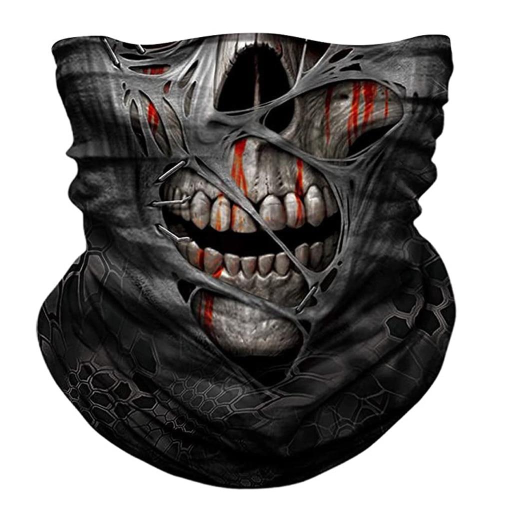 Sem costura 3d impressão pescoço cachecóis mágicos capa de ouvido rosto escudo tubo lenço bandana rosto escudo bandana bandana lenço pescoço tubo fashipping