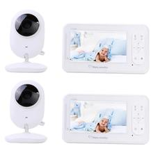 Newborn Baby Sleepping Monitor 4.3 inch Color Wireless Video 2 Way Talk Infants Security Camera Digital