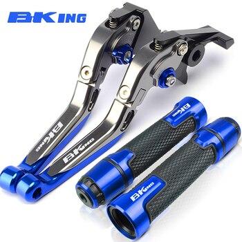 цена на For Suzuki B-KING BKING 2008-2012 2009 2010 2011 Motorcycle Aluminum Folding Extendable Brake Clutch Levers Handlebar Hand Grips