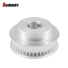 SUMRAY 5M 40T Timing Belt Pulley 8/10/12/14/15/16/17/18/19/20mm Inner Bore Wheel 16/ 21mm Width Motor