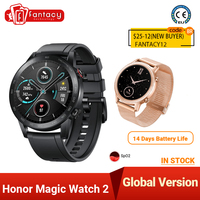 Honor-reloj inteligente Magic Watch 2 versión Global, resistente al agua, con llamadas de teléfono, Bluetooth, oxígeno en sangre, 42mm, 46mm, para Android e iOS