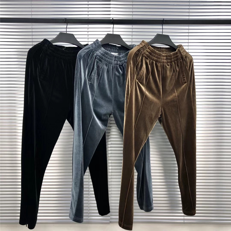Velvet Galliano Lando Sweatpants Men Women 1:1 High Quality Streetwear Kanye West Drawstring Joggers Pants Trousers