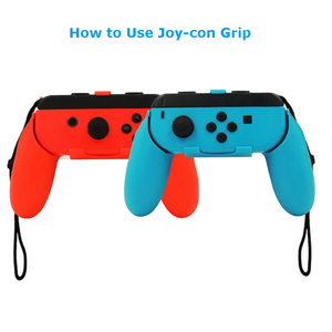 Image 5 - Yoteen 14 In 1 For Nintendo Switch Accessories Kit With Steering Wheel Handle Grips Silicone Case Analog Caps Joy con Grips