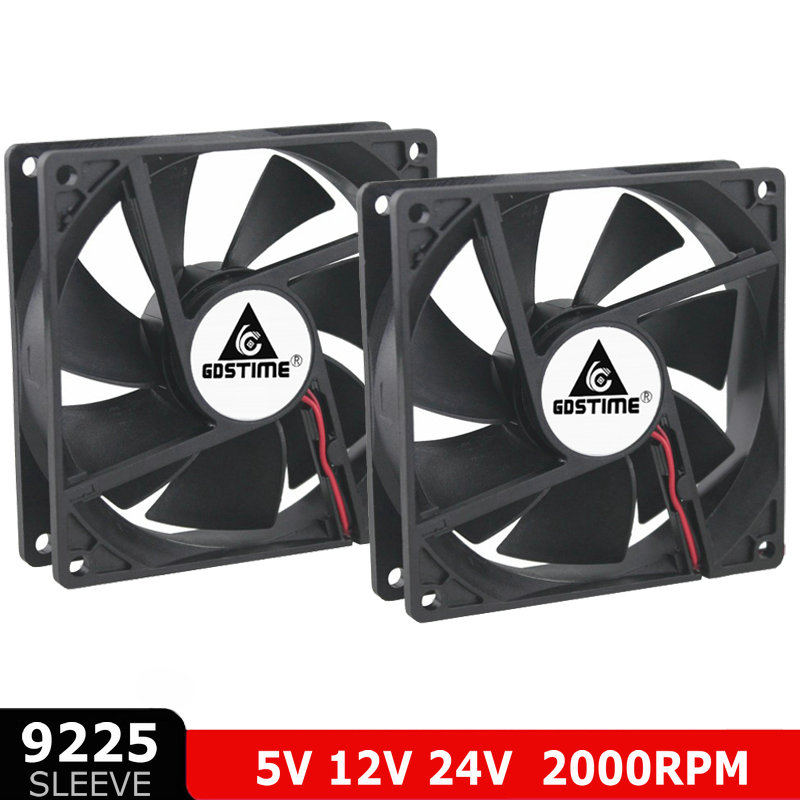 Brand New for delta AUB0924VH 9225 DCC 24V 0.40A 3800RPM 81.5CFM axial server inverter cooling fan