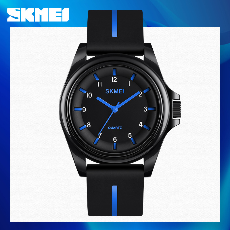 SKMEI Fashion Men Women Watches Quartz Wristwatches 3Bar Waterproof Personality Colorful Silica Gel Band relogio feminino 1578
