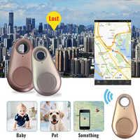 Anti-Verloren GPS Locator Haustiere Smart Mini GPS Tracker Wasserdichte Bluetooth Tracer Für Pet Hund Katze Schlüssel Brieftasche Tasche kinder Finder