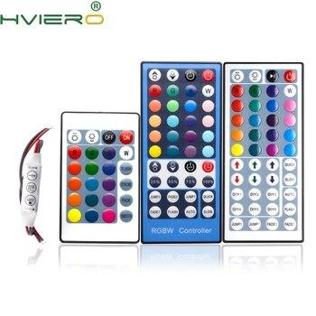 цена на RGB LED Lights 24Keys 44Keys IR Controller Remote Dimmer Input DC 12V 3-5A For RGB SMD 3528 5050 2835 LED Strip Holiday Lighting