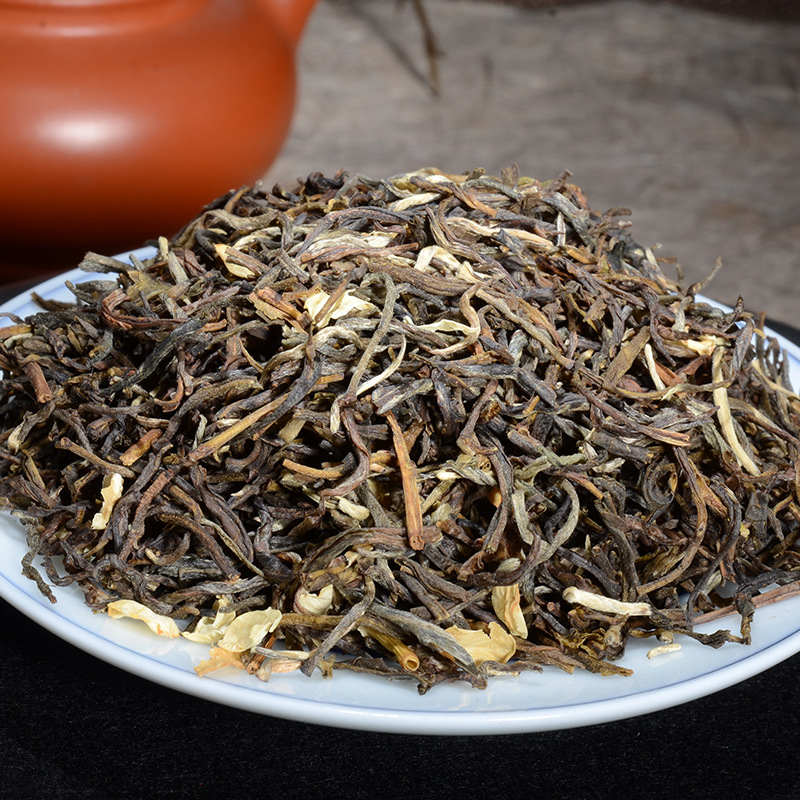 China Yunnan Raw Pu'er Pu'er Tea Jasmine Tea Tea Premium Cooked Tea Cake Lost Weight Green Food 2