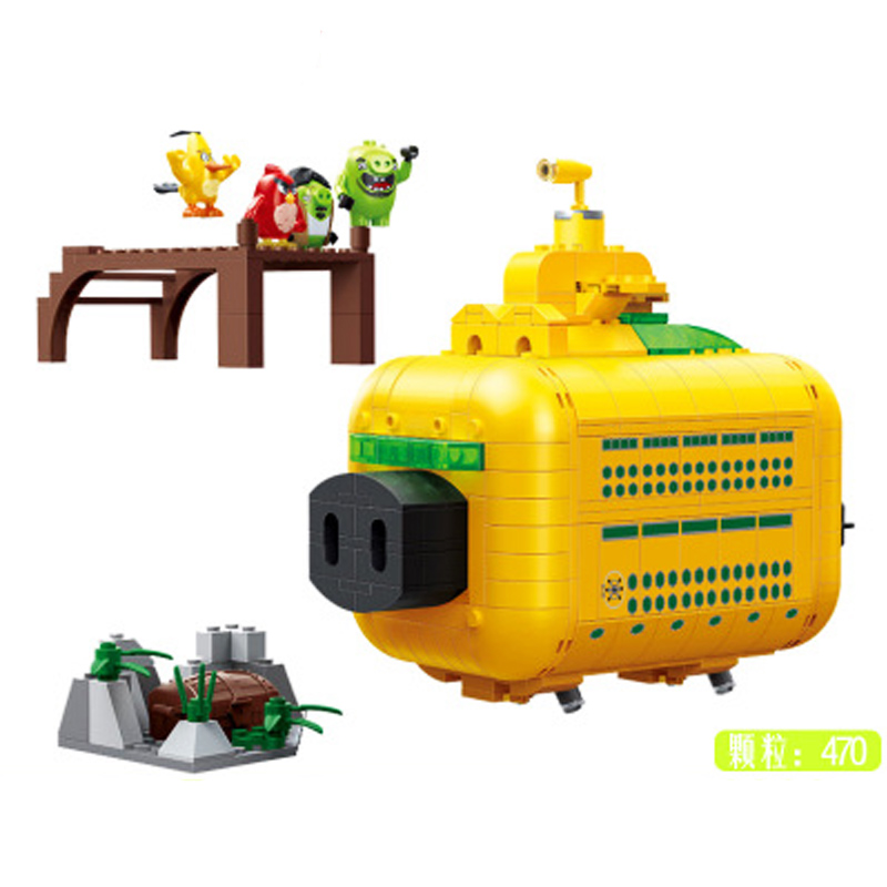 2019 Birds Pig City Teardown Boys and Girls Sets Compatible Legoines Angryes Birds 2 Building Blocks Toys for Children Gift in Blocks from Toys Hobbies