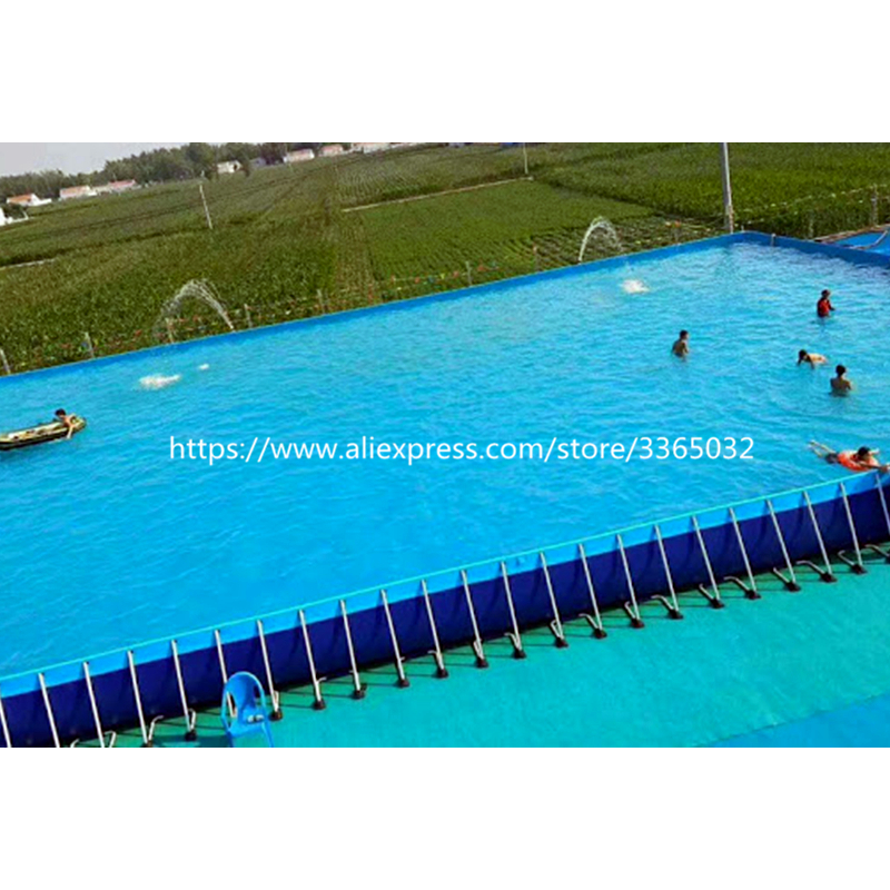 Large Above Ground Swimming Pool, Steel Structure Frame Swimming Pool