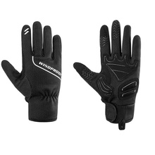 Велосипедные перчатки с контактным экраном велосипедные перчатки противоскользящие ветрозащитные MTB дорожные велосипедные перчатки с пальцами перчатки для зимних видов спорта на открытом воздухе