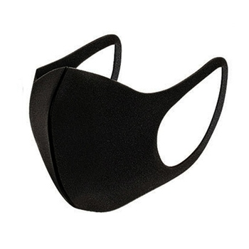 Unisex Black Mouth Masks Anti Dust Reusable PM2.5 Mask Dustproof Outdoor Travel Protection Mouth Cover Antivirus Flu Safety
