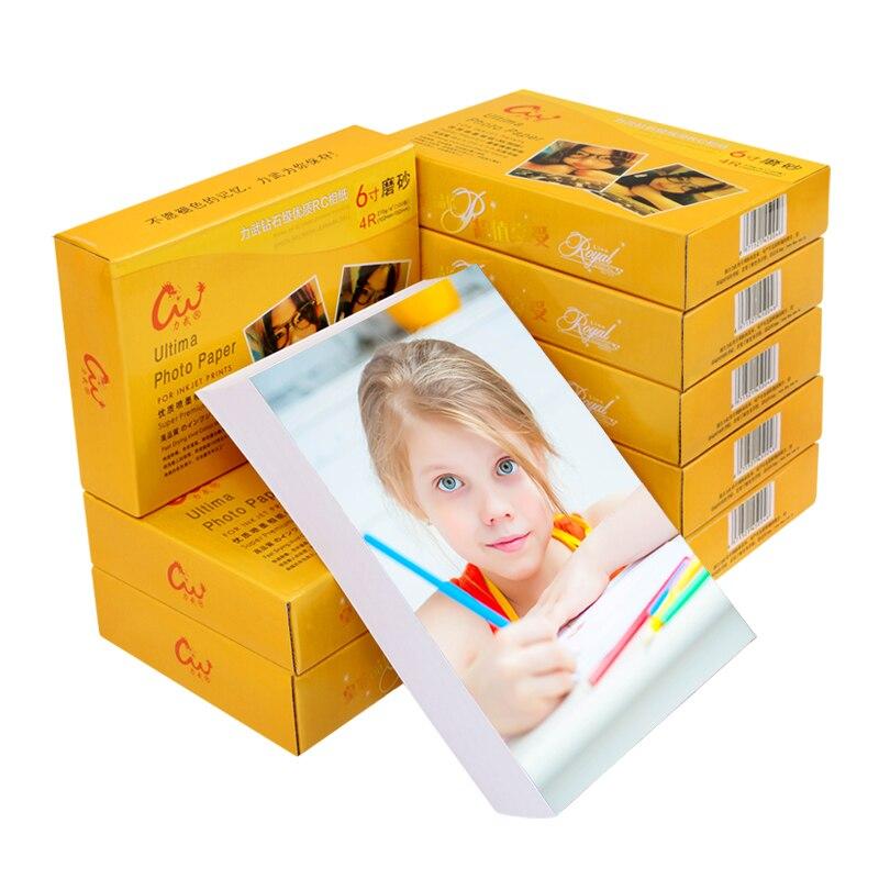 A4 Photo Paper Papel Fotografico Para Impresora Smooth Photo Printer Inkjet Printers Photo Paper Glossy Zink Impresora Fotos