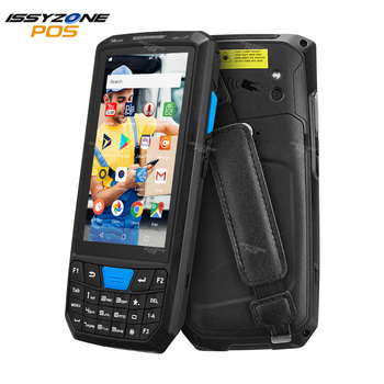 ISSYZONEPOS Rugged Android 8.1 PDA Handled POS Terminal 1D 2D Barcode Scanner Data Collector for Warehouse Bar codes Reader - discount item  18% OFF Office Electronics