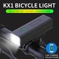 Велосипедная фара, перезаряжаемая от USB, передняя фара, фонарик, велосипедный фонарь с линзой T6/L2/P50/P90, Аксессуары для велосипеда