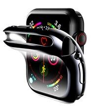Экран защитный чехол для Apple Watch группа 4/3/2/1 iwatch 42 мм 38 мм 4 мм 40 мм противоударный Shell протектор Аксессуары
