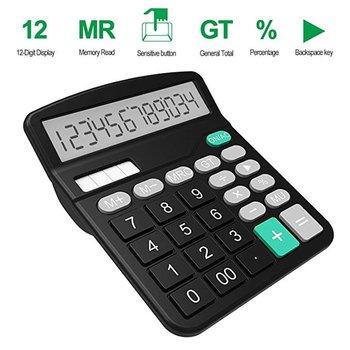 Biuro kalkulator finansów Calculat plastikowe Solar komputer Business finansów w biurze kalkulator 12 komputerów stacjonarnych biuro kalkulator tanie i dobre opinie EDUP Biuro typu handlowego Baterii Z tworzywa sztucznego Calculator