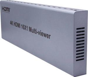 4K 1080P HDMI мульти-просмотра 16x1 мультипросмотра разветвитель экрана 16 в 1 выход бесшовный переключатель видео конвертер F PS4/PC/камера безопаснос...