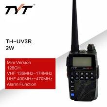に適用tyt TH UV3Rミニハンドヘルド双方向ラジオvhf/uhfアマチュアhtラジオusb充電ctcss/dcsトランシーバーfmトランシーバ