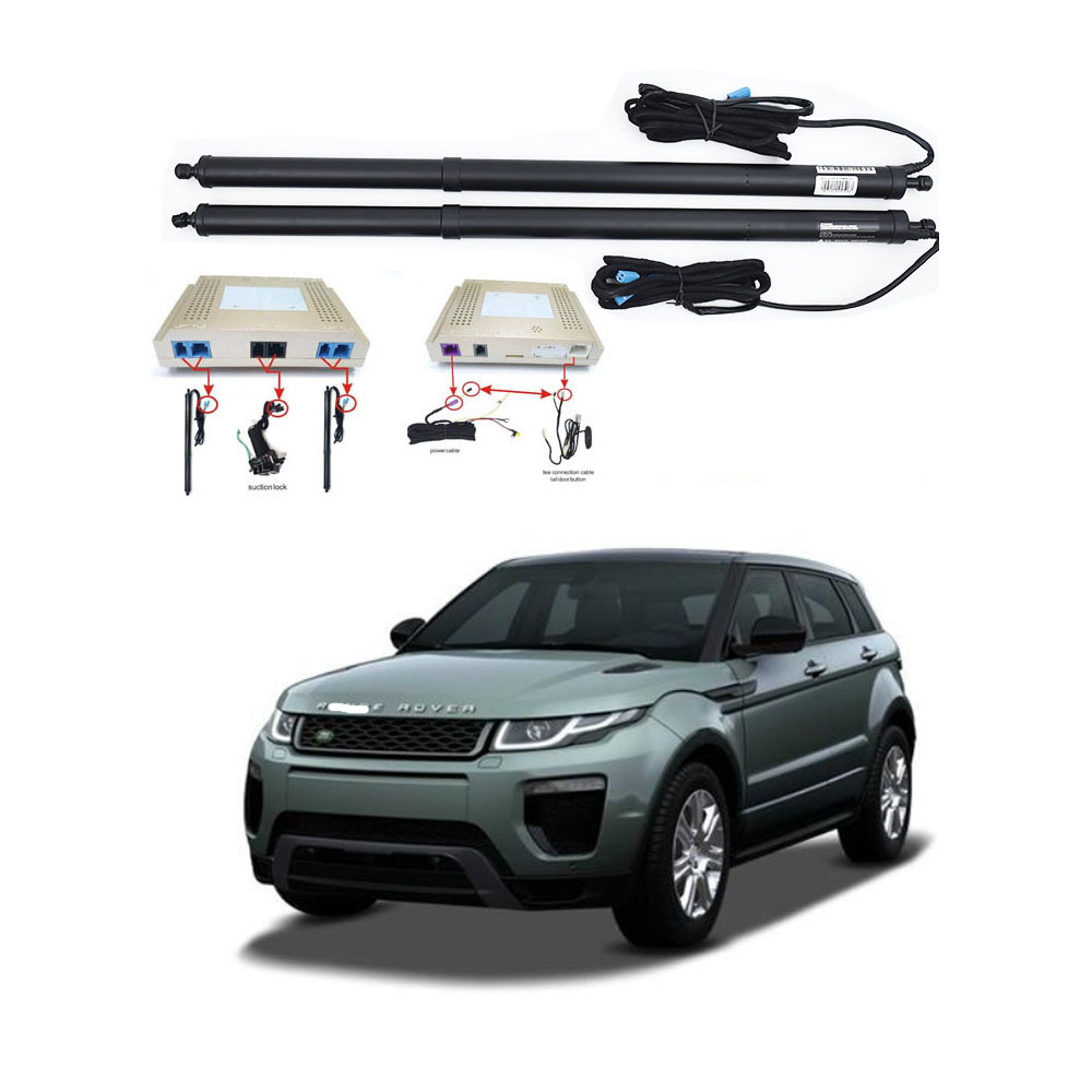 New Electric Tailgate Refitted For Land Rover EVOQUE 2015- Tail Box Intelligent Electric Tail Door Power Tailgate Lift Lock