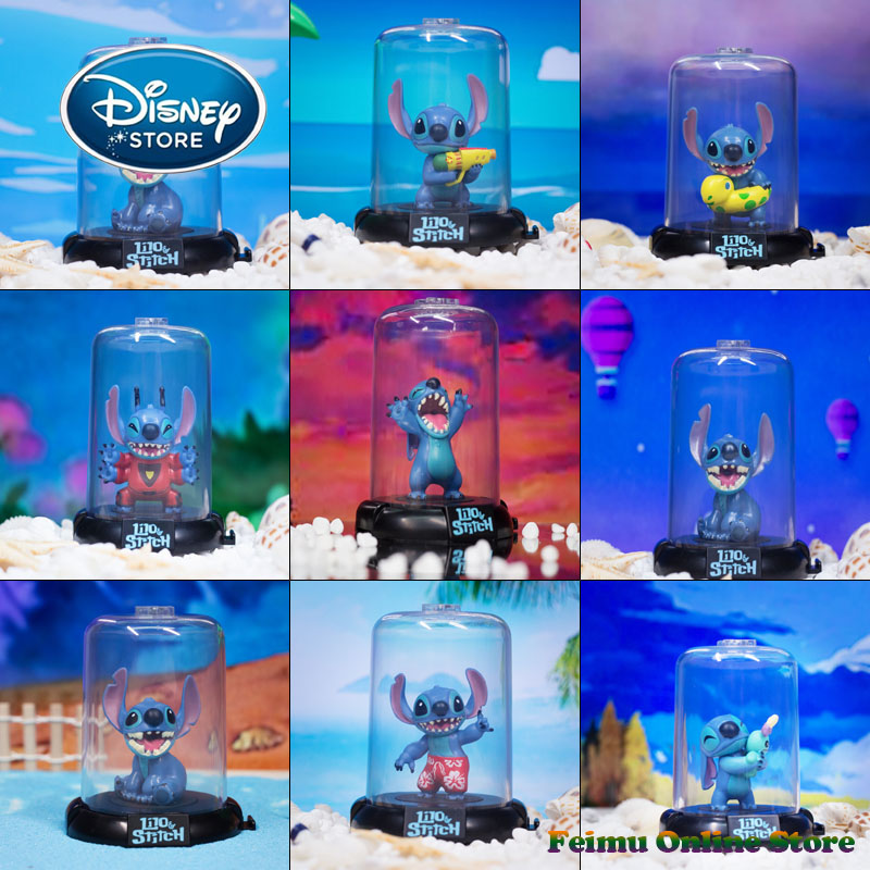 Disney Blind Box Movie Figures Lilo& Stitch Action Figure PVC Collectible Anime Model Toy Stitch Doll Collection Toys Best Gifts