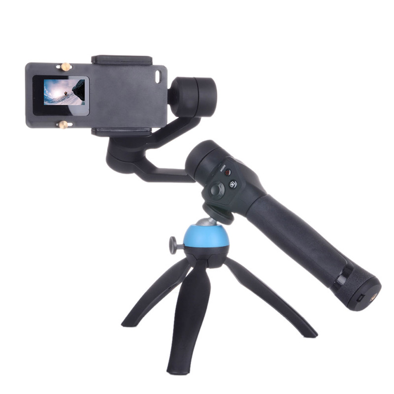 Stabilizer <font><b>Gimbal</b></font> Switch Plate Adapter For Gopro Hero 7 6 5 4 3+ For <font><b>Xiaomi</b></font> Yi <font><b>4K</b></font>+SJCAM DJI Osmo Action <font><b>Camera</b></font> Mount image
