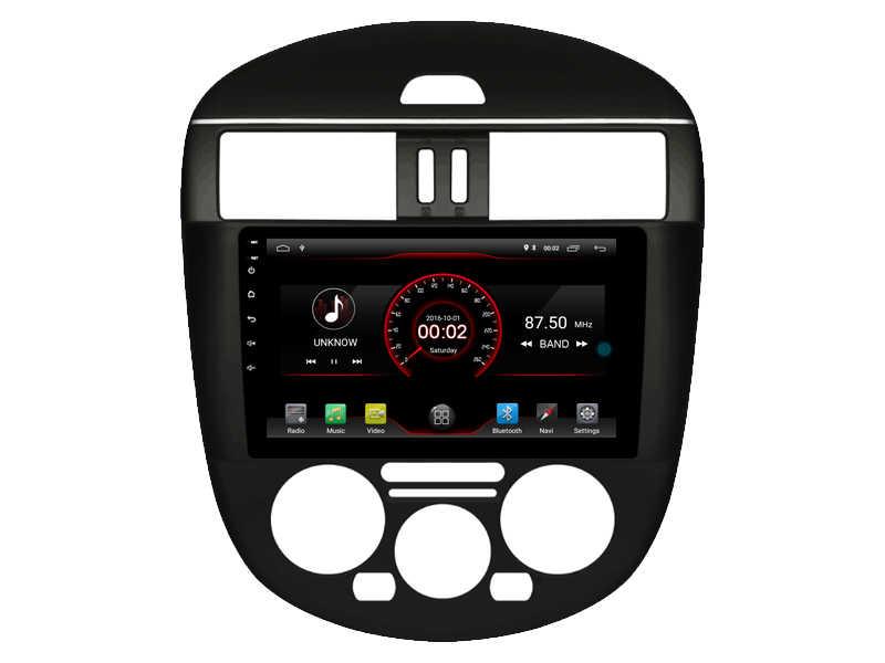 を内蔵 4 4g Lte 車インテリジェントナビゲーションテープレコーダー 9.0 アンドロイド車の gps ラジオマルチメディア日産ティーダマニュアル AC