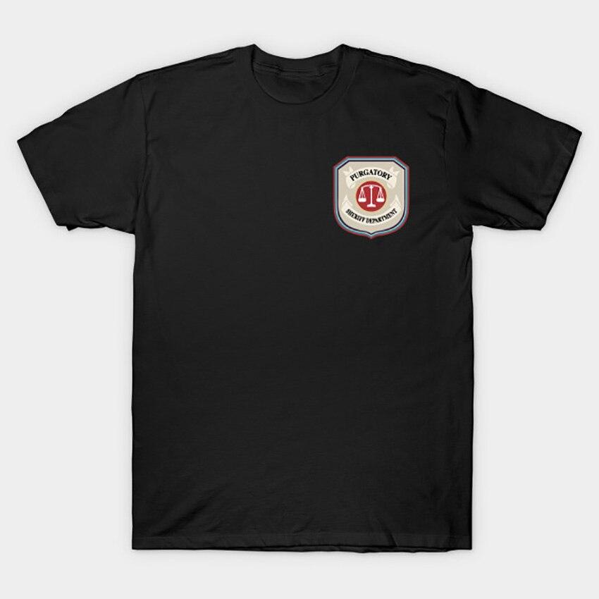 Purgatory Sheriff Department T Shirt Wynonna Earp T Shirt wynonna earp tv series doc holliday purgatory pride wayhaught wearpT-Shirts   -