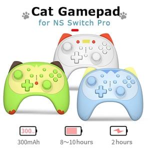 Image 5 - Cute Cat Gamepad Per Nintend Interruttore Pro Interruttore Interruttore Lite Controller Wireless Controller Gamepad Impugnatura del Controller di Gioco Pad
