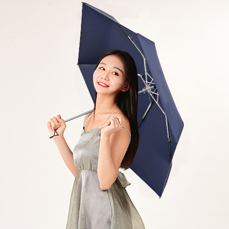 Pocket Mini Umbrella Rain Women Windproof Durable 5 Folding Sun Umbrellas Portable Sunscreen Female Parasol Umbrella in Umbrella Stands from Home Garden