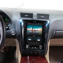 128G Tesla ekran için 2004-2012 Lexus GS GS300 GS350 GS450 GS460 Android araba oto ses Stereo radyo kaydedici GPS Navi kafa ünitesi