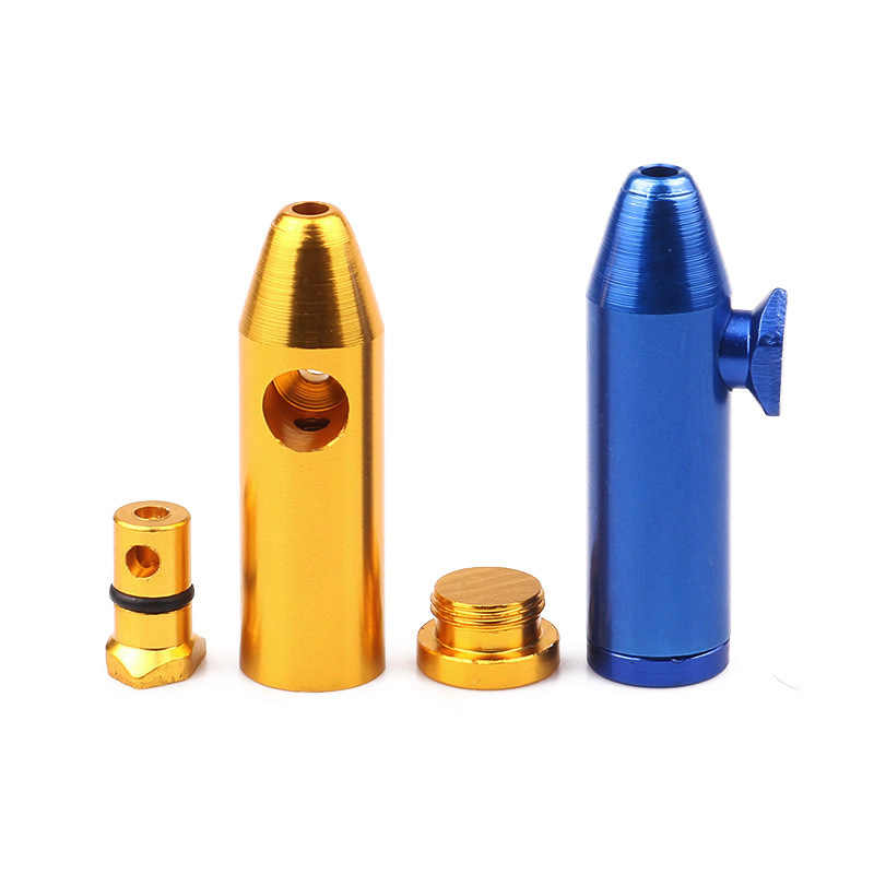 52mm wskazał Bullet tabaka butelki przenośne narkotyków dozownik moda tabaka butelki chwastów akcesoria do rur