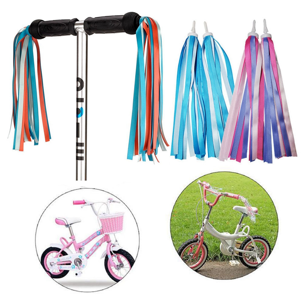 Bicycle Decoration Streamers Tassel Tricycle Handlebar Tassels Scooter Parts