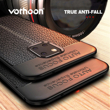 Vothoon PU Leather Silicon Case For Huawei Mate 20 Pro 20X Lite P30 P20 Soft Shockproof Cover