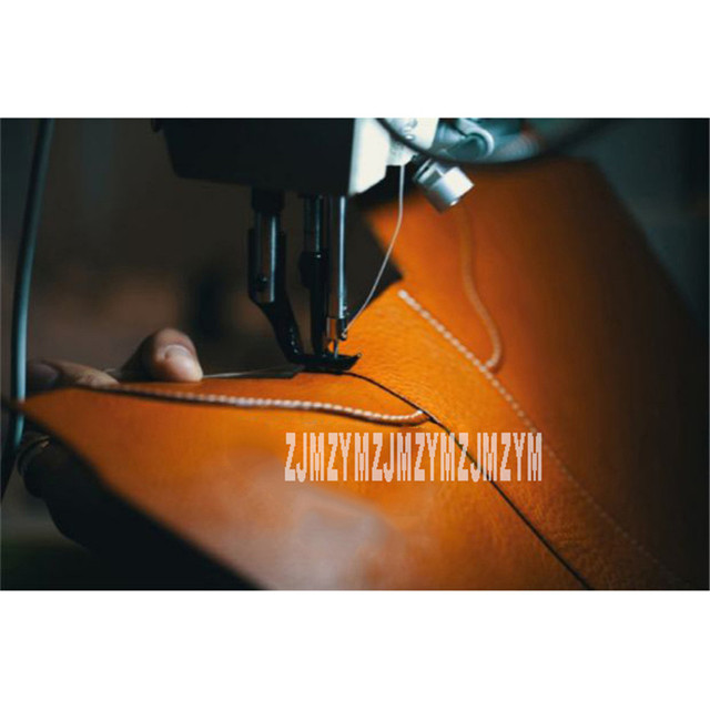 246E Automatic Leather Sewing Machine Suit For Leather Bag/Handbag/Shoes/Sofa Stitching Sewing Machine DP*17 Needle 220V 750W