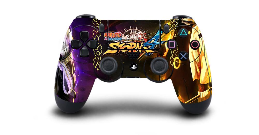 Naruto Protective Cover Sticker For PS4 Controller Skin For DualShock 4 Playstation 4 Pro Slim Decal PS4 Skin Sticker Vinyl