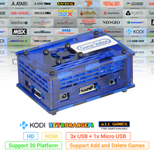 128GB RETRORANGEPI Station de jeu Arcade KODI bureau MINI PC HDMI w/ 17000 + jeux rétro tarte système KODI ARCADE KIT complet