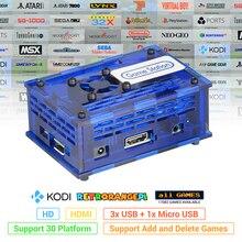 128gb retrorangepi estação de jogo arcade kodi desktop mini pc hdmi com 17000 + jogos retro sistema torta kit completo