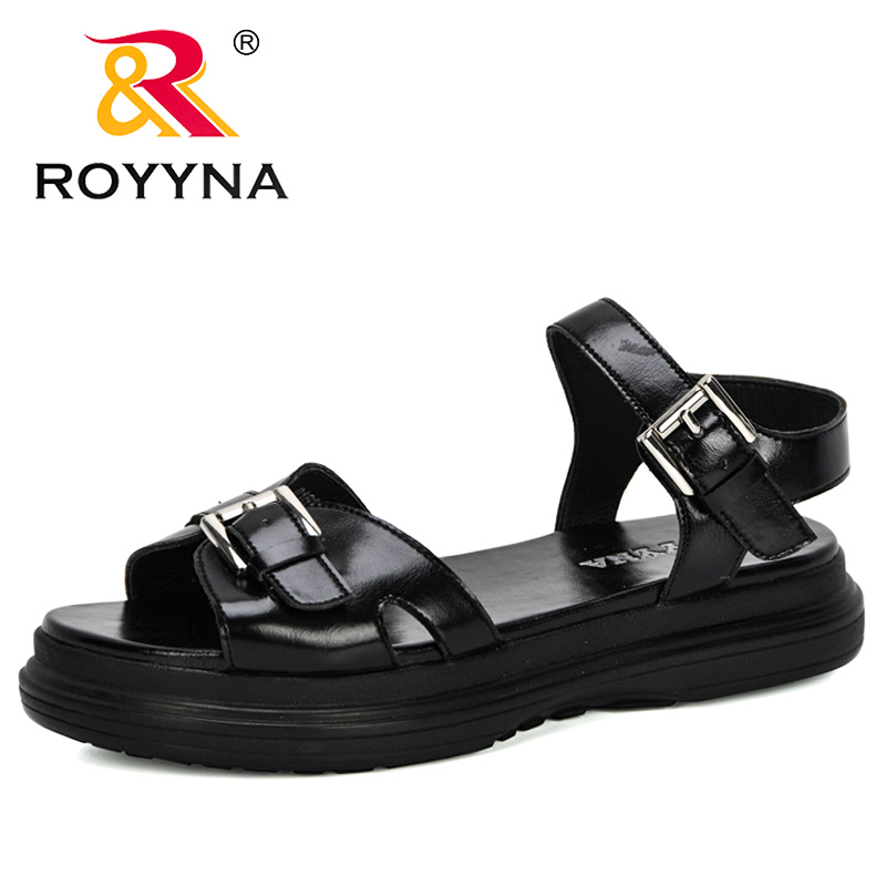 ROYYNA/2020; Новые дизайнерские Популярные стильные босоножки на толстом каблуке; Женские летние Вьетнамки; Chaussures; Босоножки на платформе; Sandalia Feminina|Боссоножки и сандалии|   | АлиЭкспресс