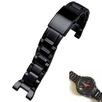 high quality 316L stainless steel watchband Strap for Amazfit T-REX Smart watch sports outdoor for Huami Amazfit T rex Bracelet