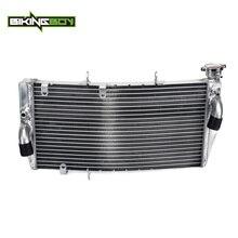 BIKINGBOY Aluminium Motor Wasser Kühlung Kühler Kühler Für Honda CBR 929 RR 00 01 2000 2001 Ersetzen OEM 19010MCJ003